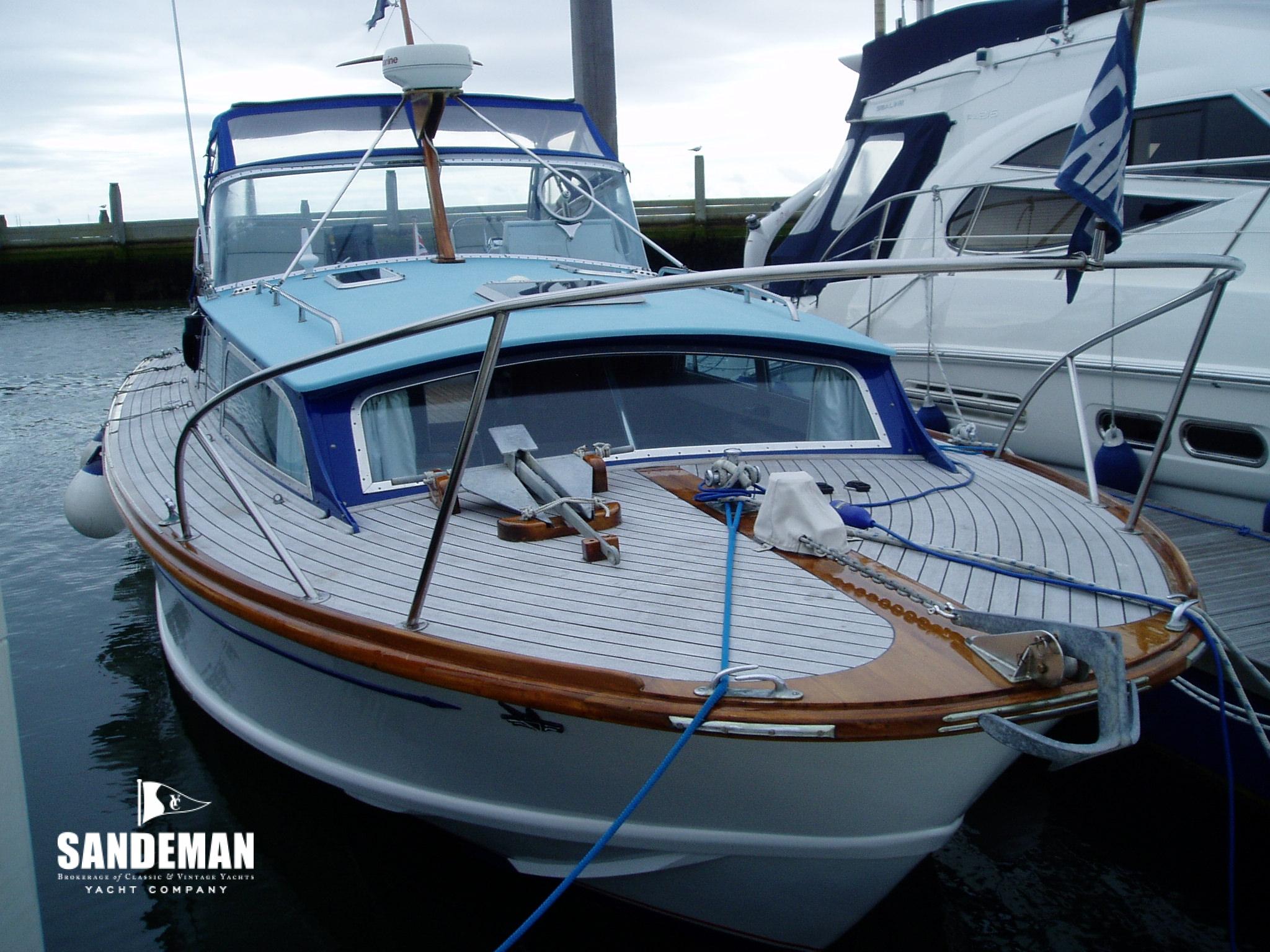 Fairey Swordsman 33 Aft Cabin 1970 Sandeman Yacht Company