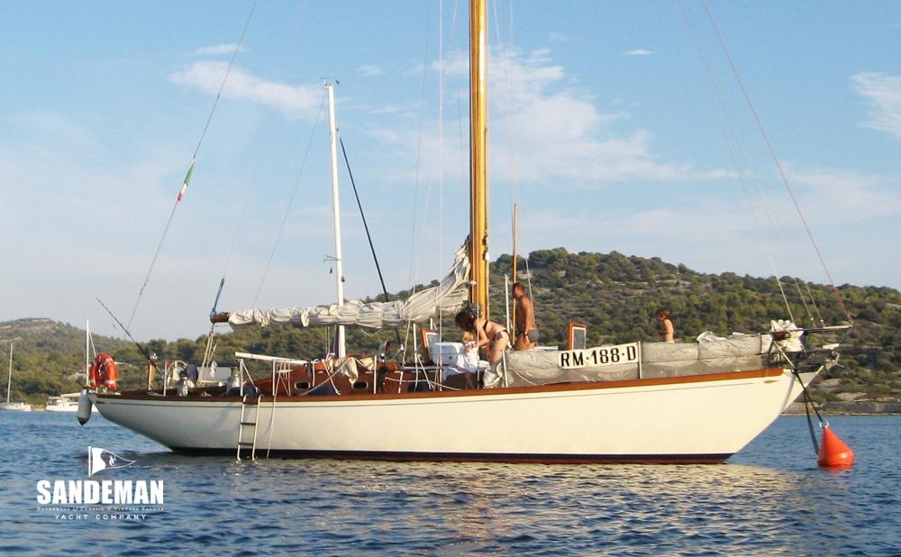 Sparkman & Stephens 41 ft Sloop 1968 - Sandeman Yacht Company