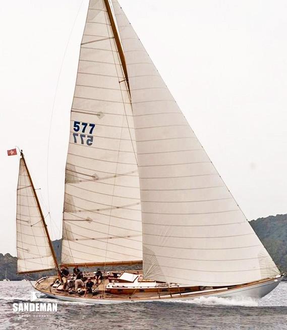 Sparkman & Stephens 52 ft Yawl 1946 - Sandeman Yacht Company