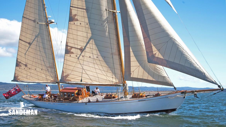 Charles E Nicholson 60 ft Ketch 1924 - Sandeman Yacht Company