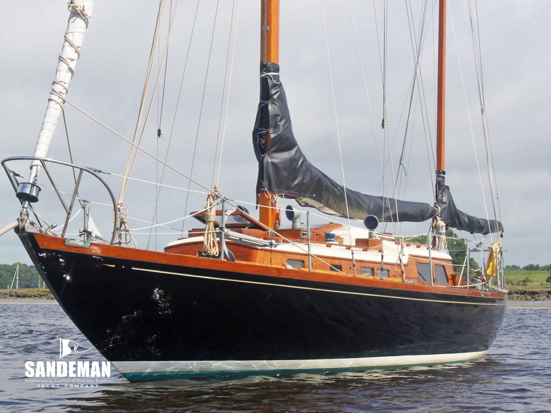 Arthur Robb 35 ft Yawl 1963 - Sandeman Yacht Company