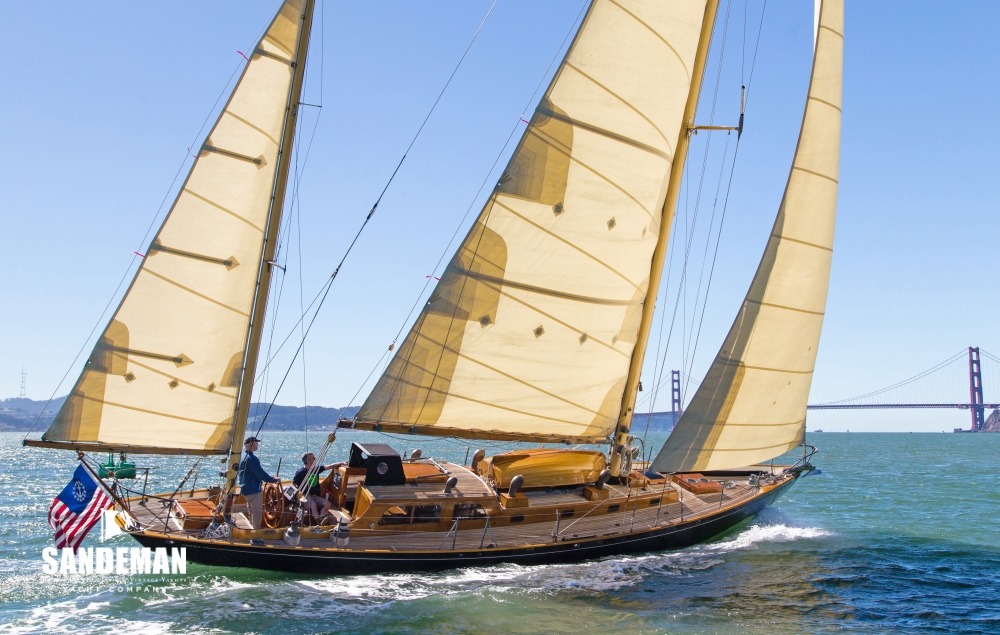 Sparkman & Stephens 53 ft Yawl 1954 - Sandeman Yacht Company