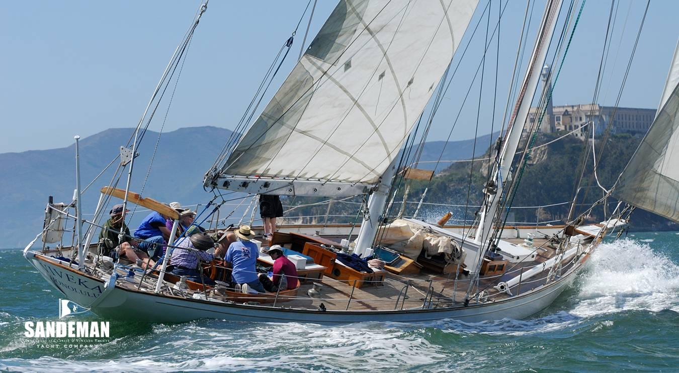 Frank Paine 72 ft Bermudian Staysail Schooner 1930 - Project
