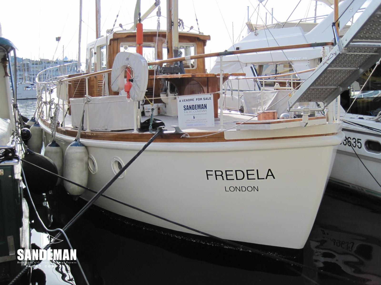 G L Watson Motor Sailer 1964 - Sandeman Yacht Company
