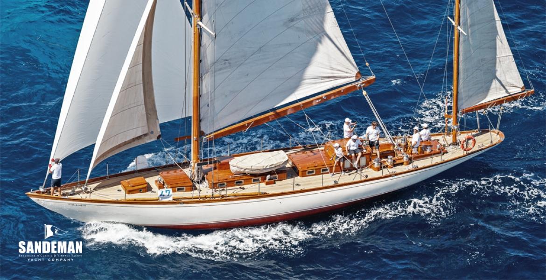 Tore Holm 70 ft Yawl 1938 - Sandeman Yacht Company